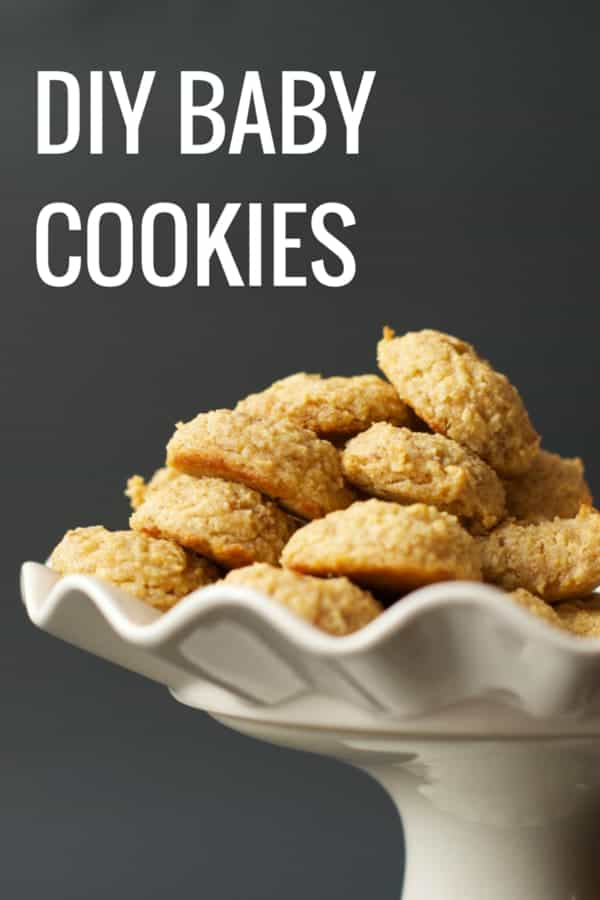 DIY Baby Cookies