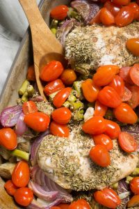 balsamic chicken bake