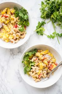 Mango Quinoa Salad -Thai Inspired