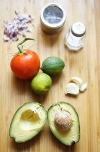 guacamole recipe - deconstructed
