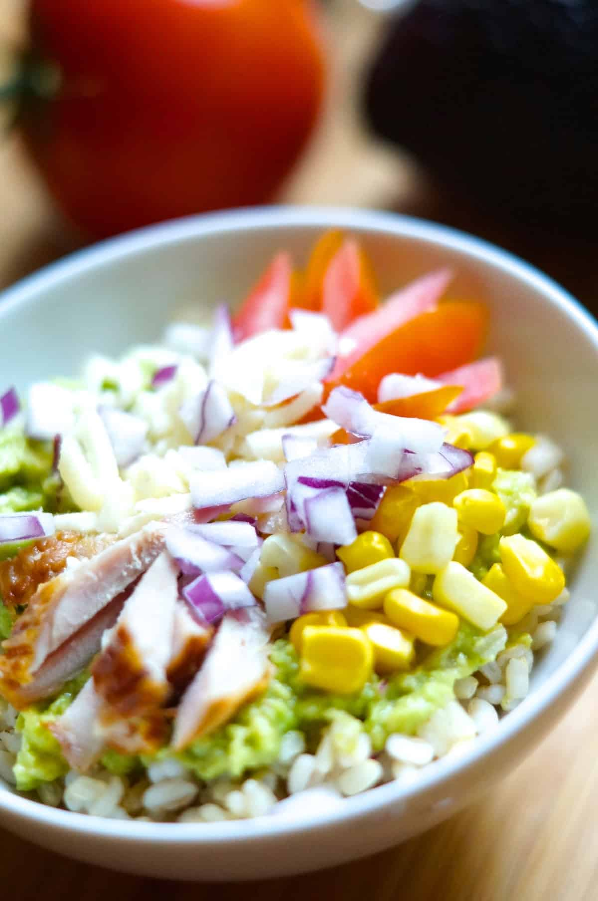 Guacamole bowl recipe - gluten free recipe
