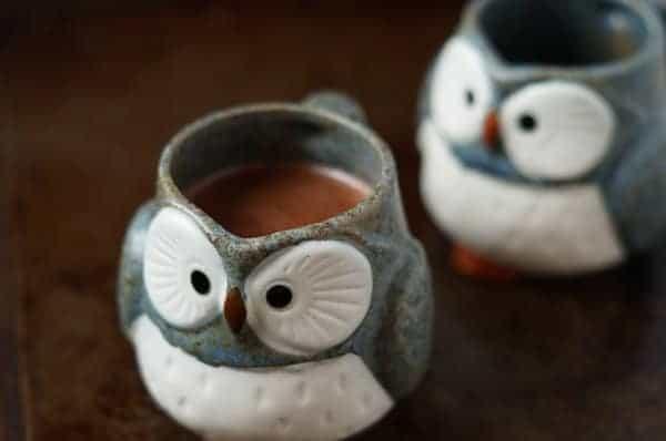 healthier hot chocolate