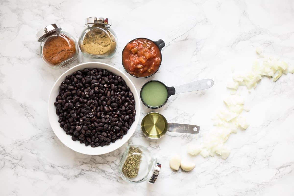 Black Bean Dip (chili lime, vegan, GF)