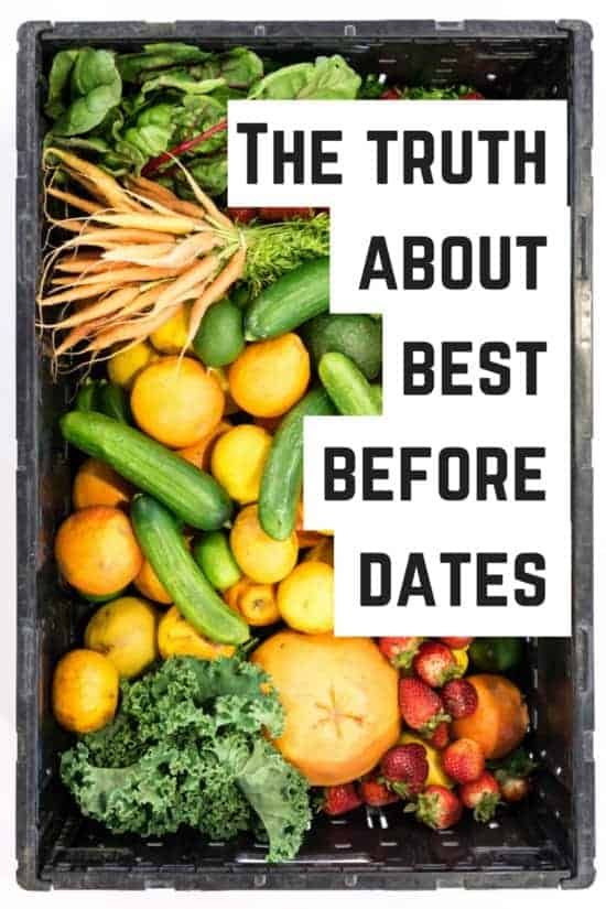 The truth about best before dates