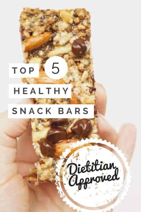 Top 5 Healthy Snack Bars