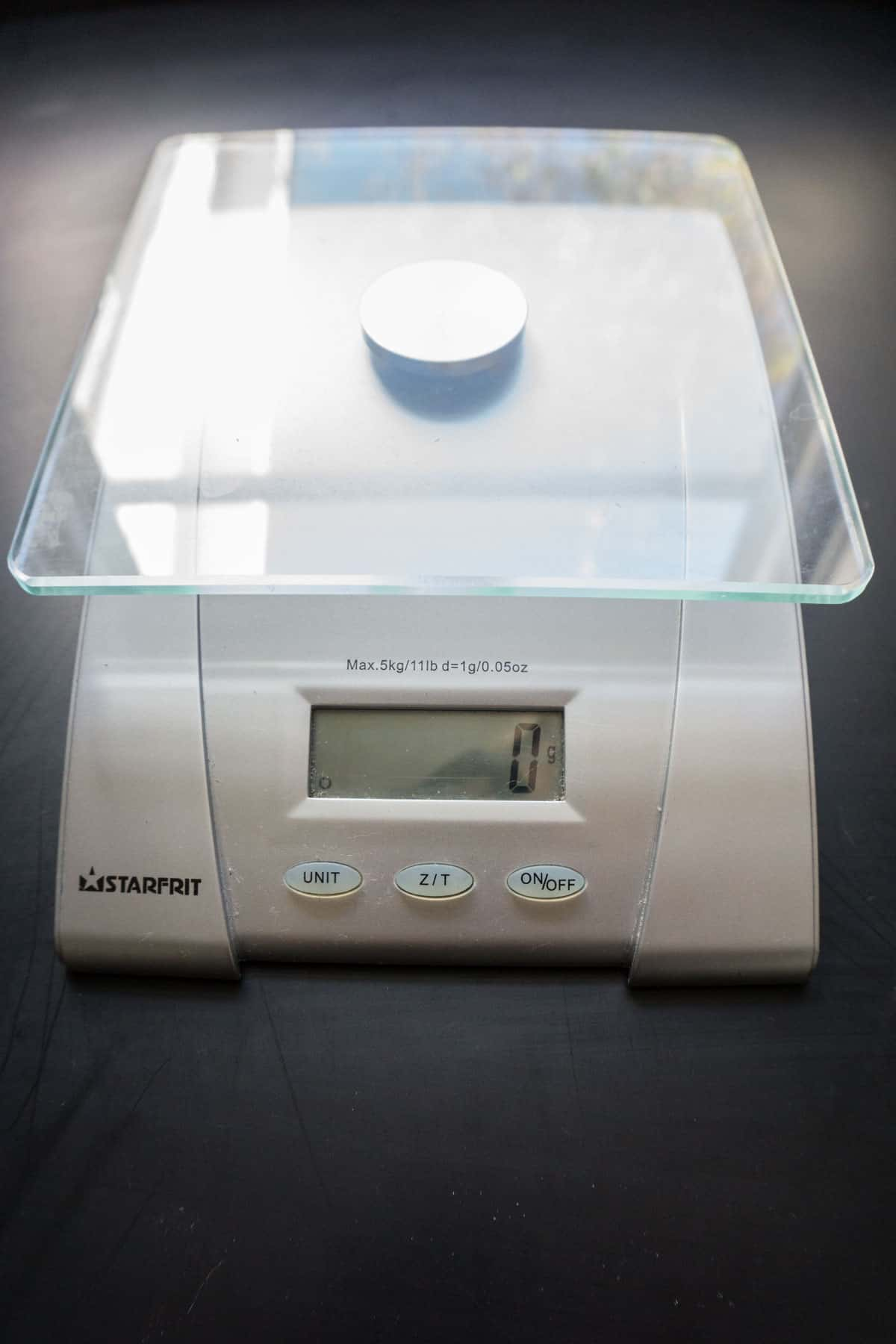 Starfruit kitchen scale