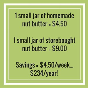 homemade vs bought nut butter