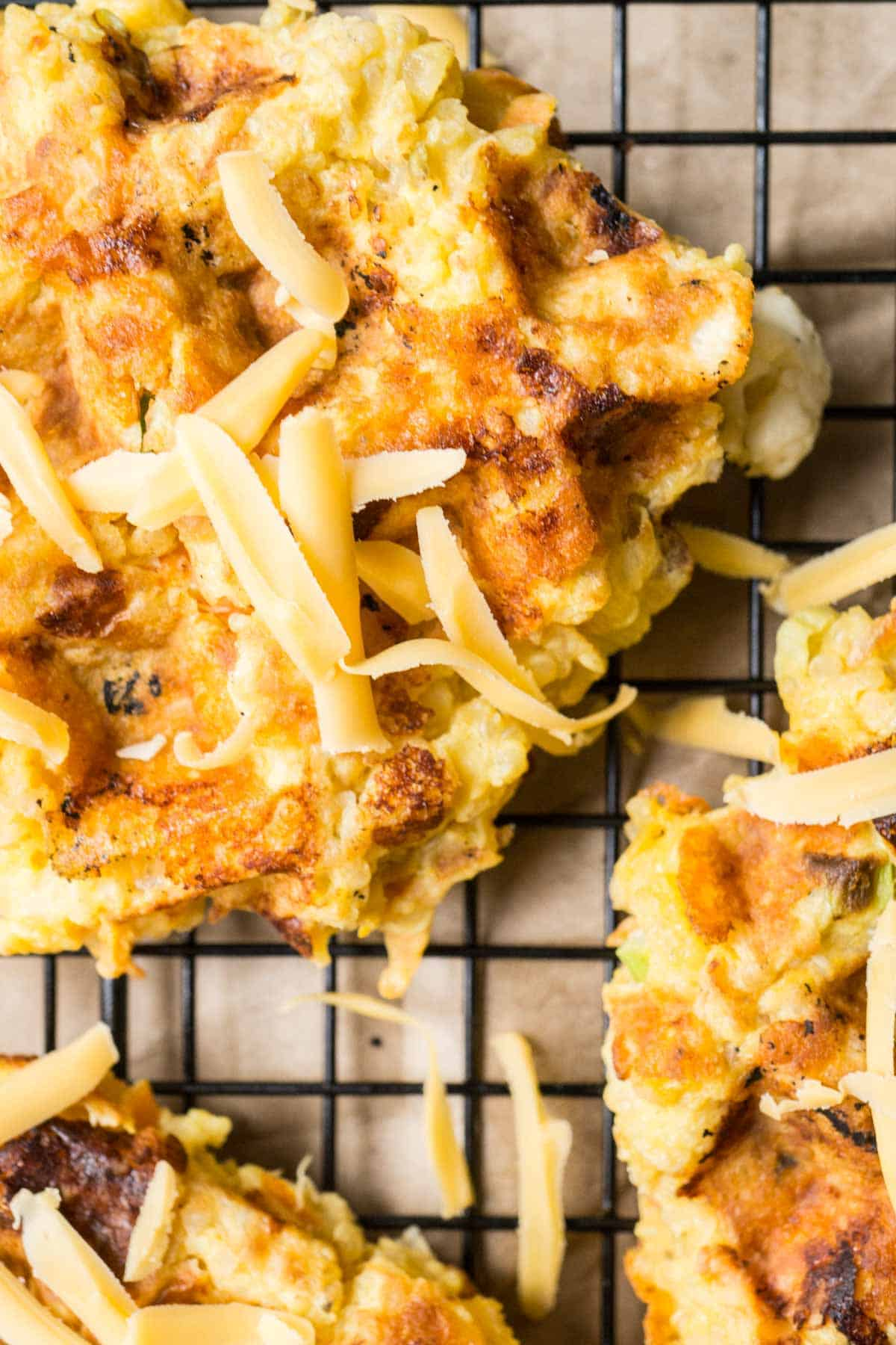 Cheesy Quinoa Waffles (4 of 4)