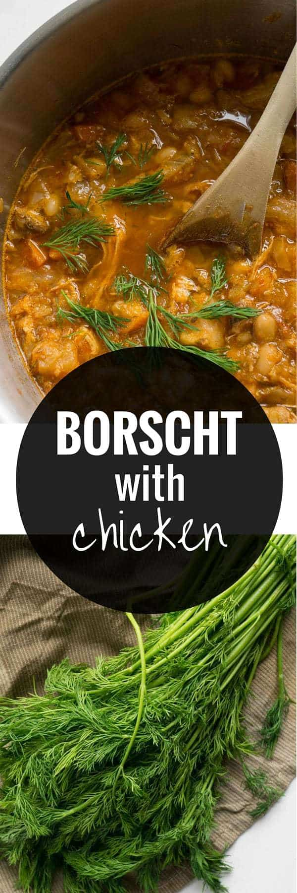 Borscht with Chicken