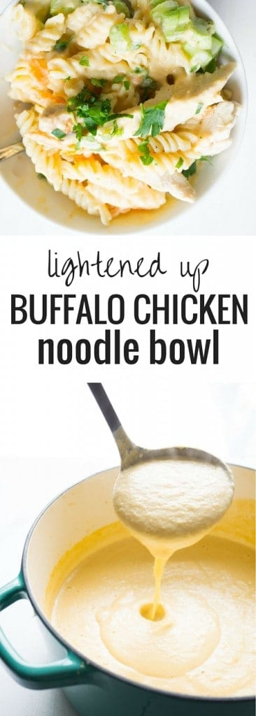 Buffalo Chicken Noodle Bowl