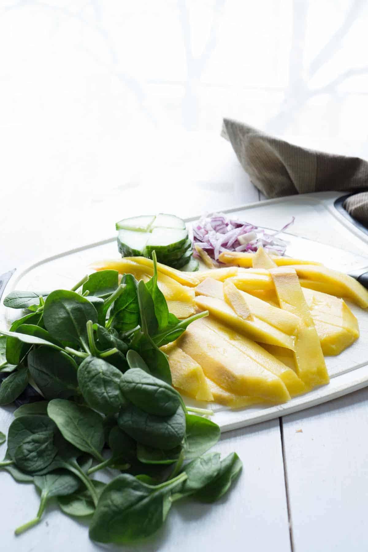 Mango Quinoa Nourish Bowl