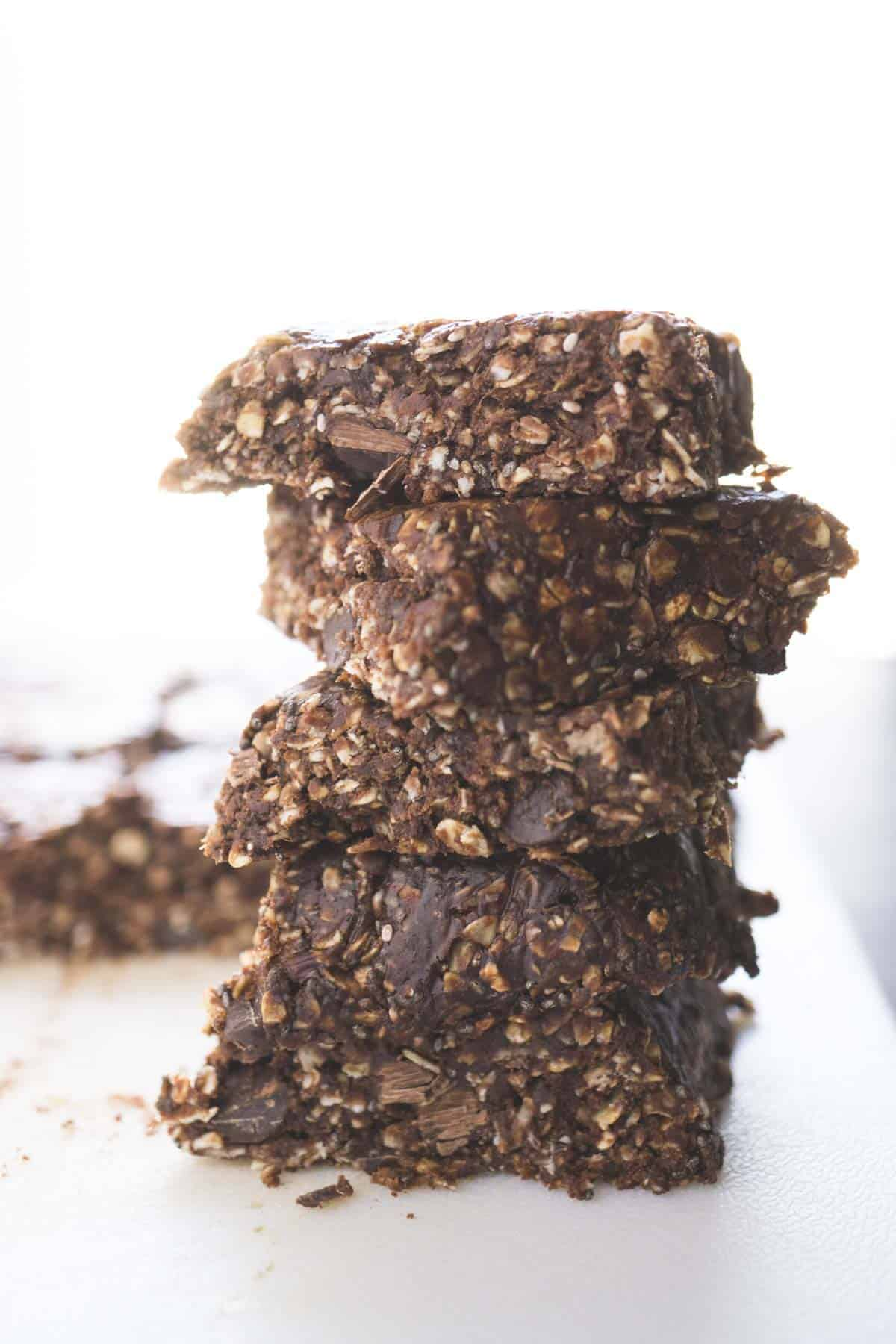 Chocolate PB No Bake Protein Bars (9 of 10)