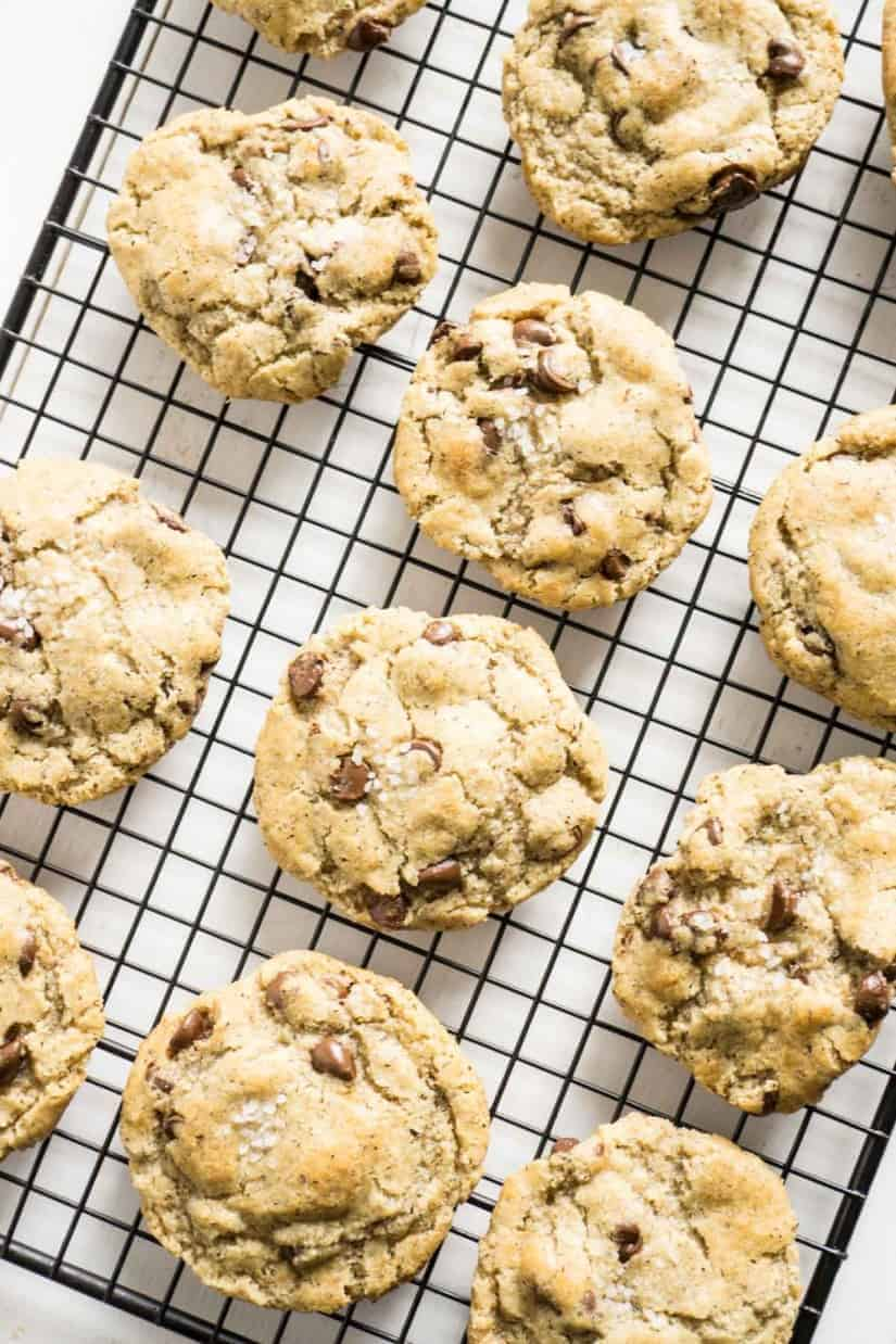 Repurpose Halloween candy to make Chocolate Chip Cookies