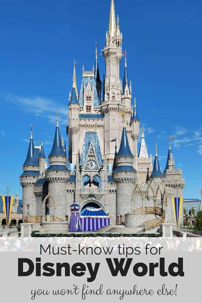 Must know Diseyworld tips you won't find anywhere else