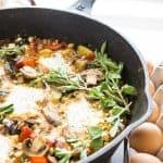 Ratatouille Egg Bake (shakshouka)