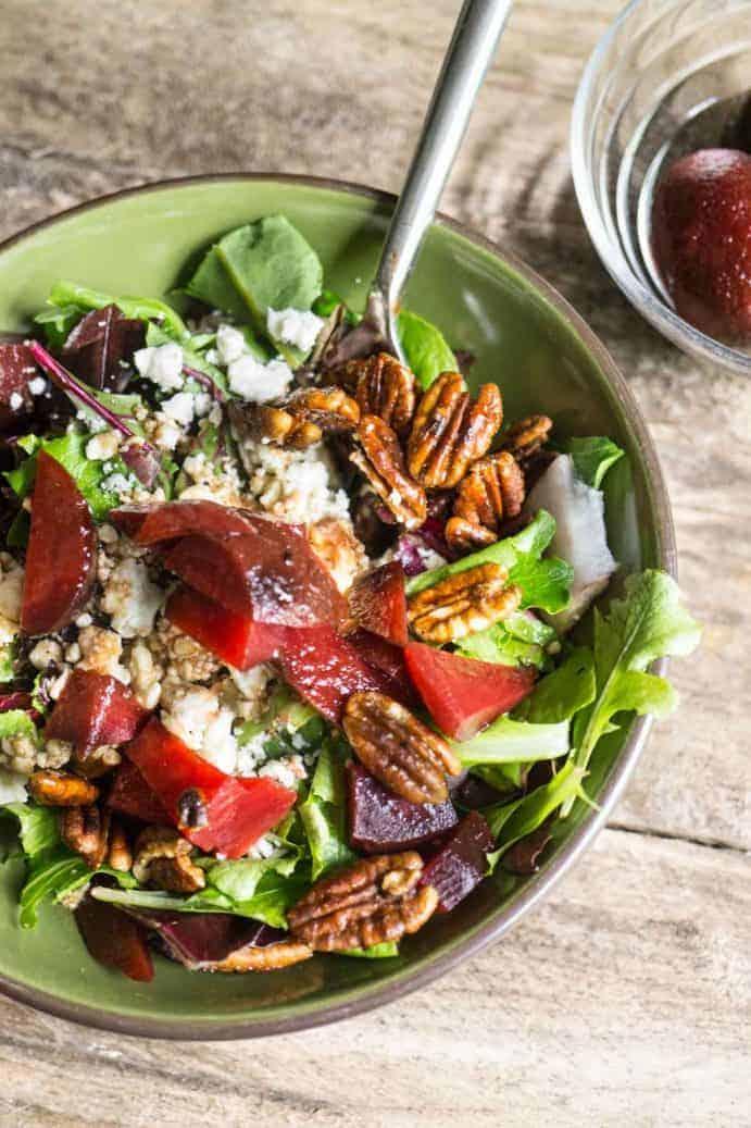 Feta Beet Salad