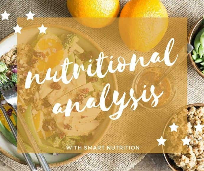 nutritional analysis