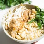 Thai Peanut Chicken freezer meal
