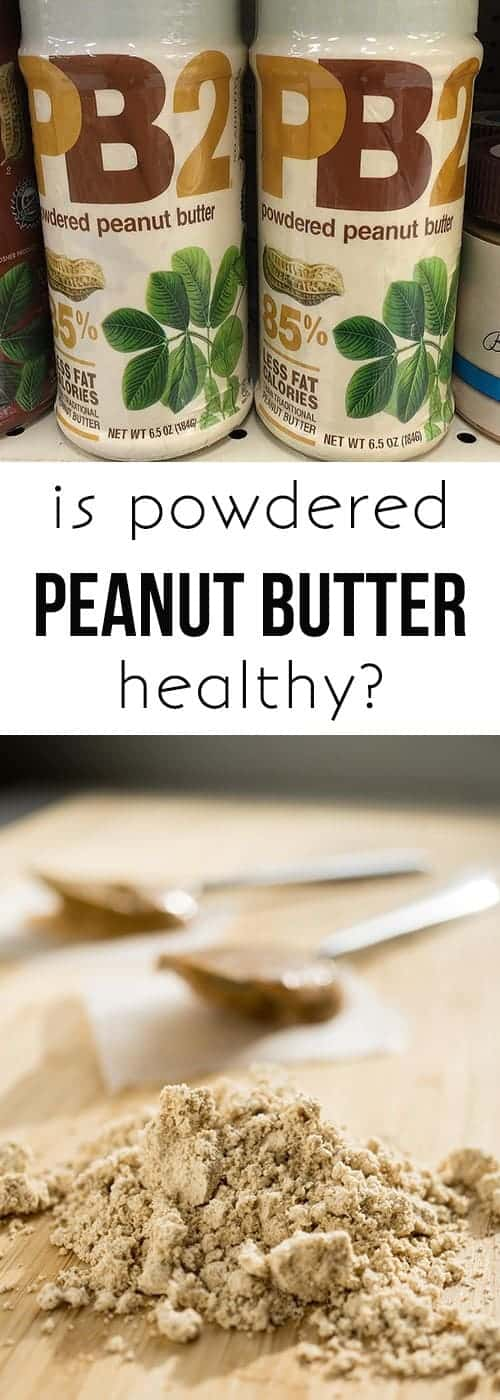 is powdered peanut butter healthy?