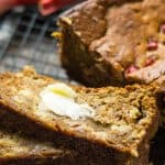 rhubarb banana bread super moist