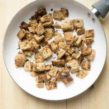 homemade croutons only 4 ingredients