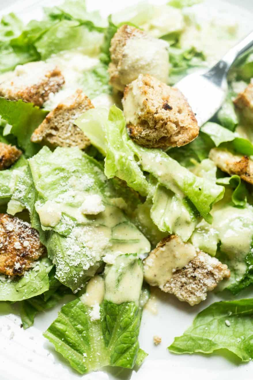 Vegetarian Caesar Dressing Easy Blender Recipe Smart