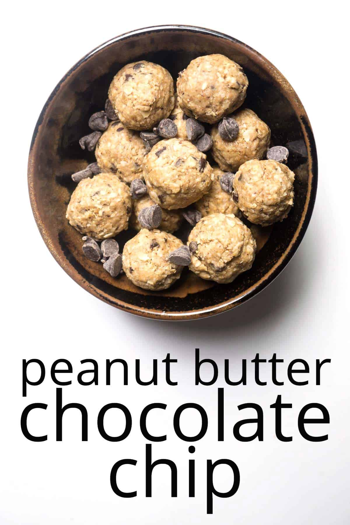 energy balls peanut butter chocolate chip