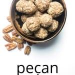 energy balls pecan pie