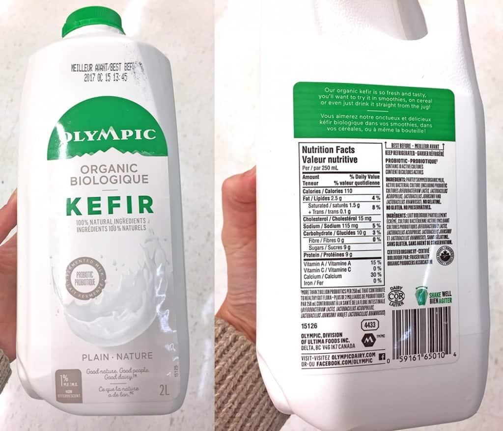 Milk alternatives -kefir