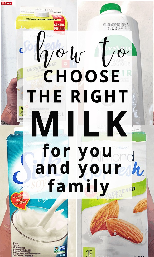 Milk alternatives - how to choose the right one for you and your family's needs.