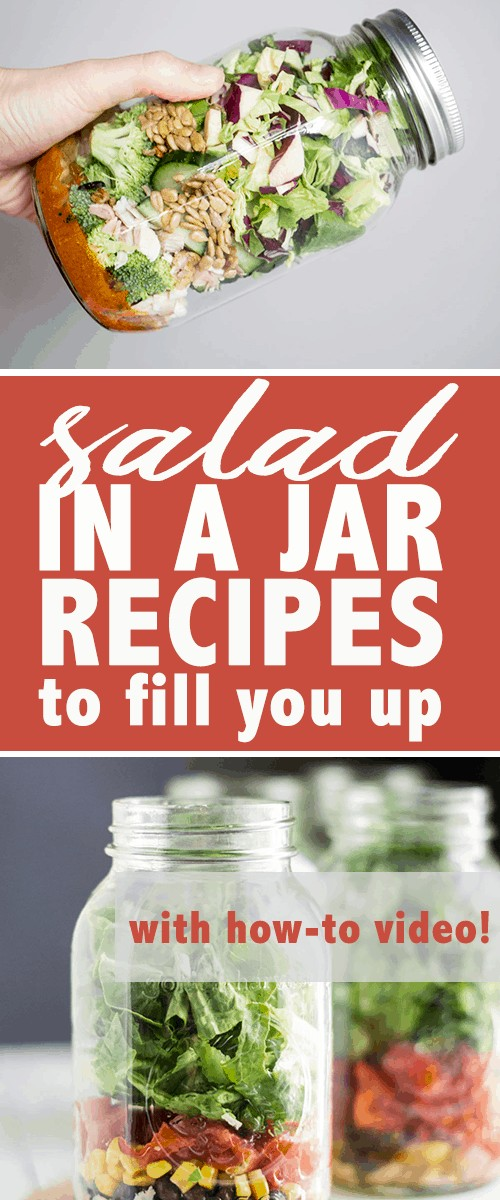 salad in a jar recipes to fill you up