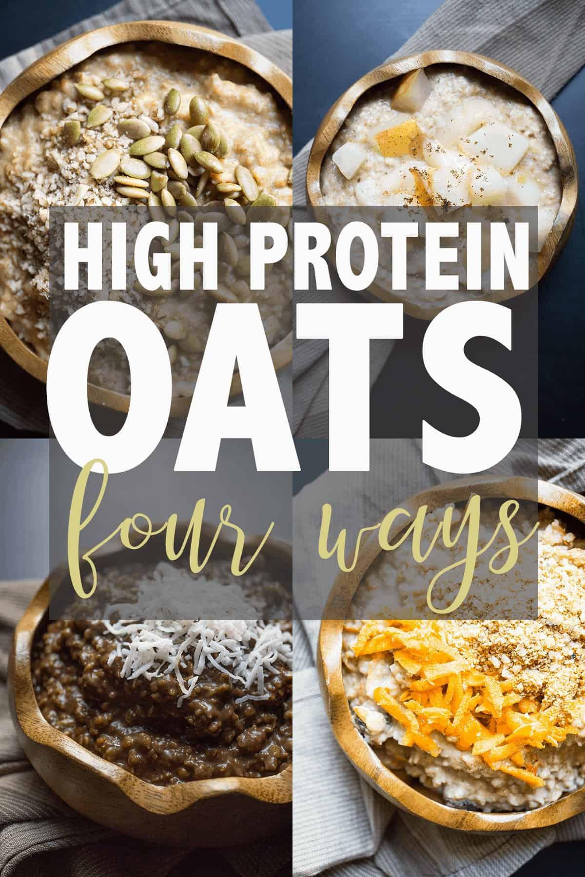 High Protein Oatmeal #highproteinbreakfast #highprotein #oatmeal #glutenfree #glutenfreebreakfast #healthybreakfast