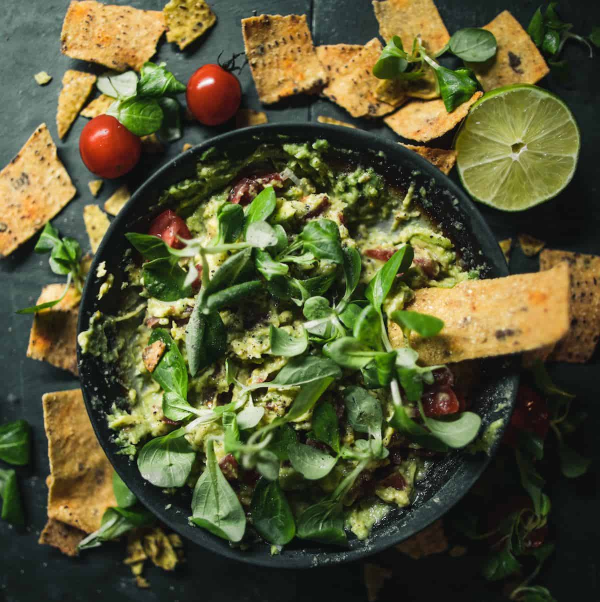 Use Leftover Halloween Candy tortilla chips for taco salad