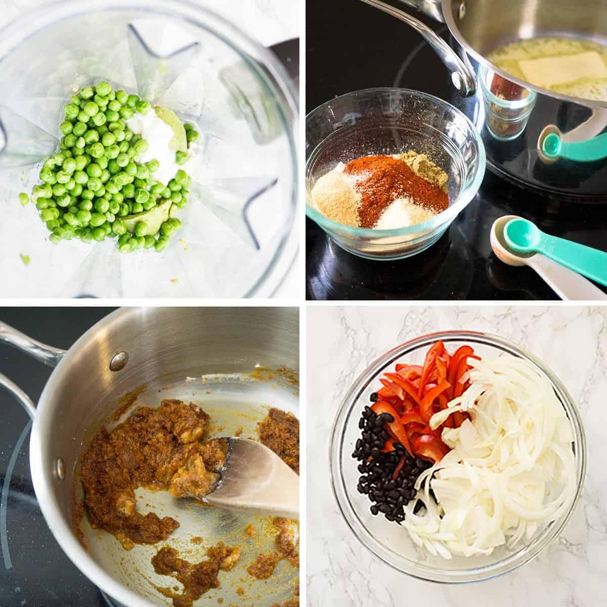 Black Bean Enchilads -steps for how to make them