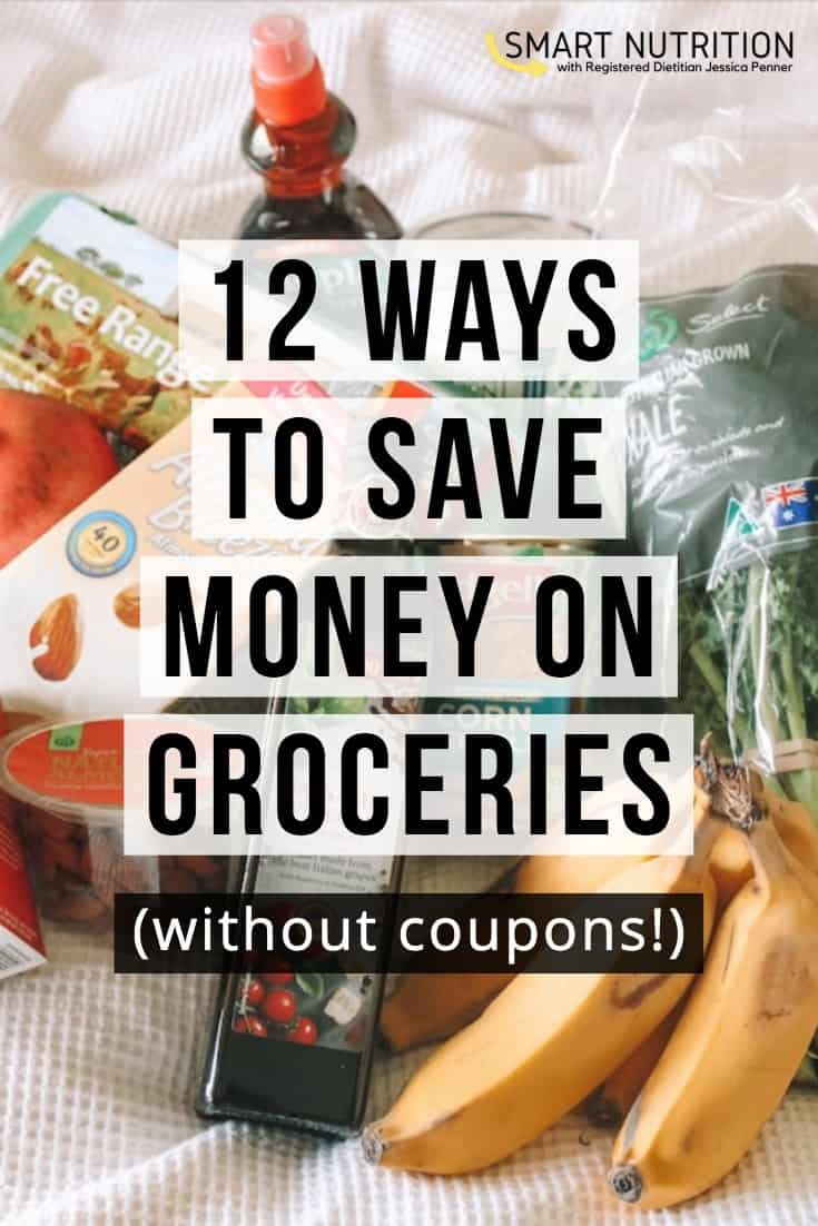 12 ways to save money on groceries