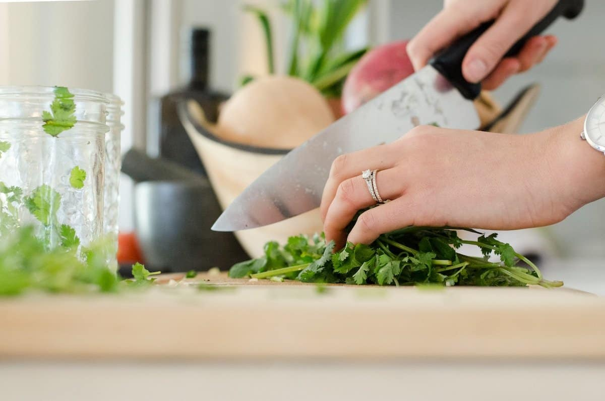 use a good knife to make meal prep more fun